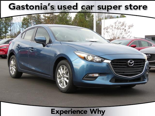 Certified Pre-Owned 2017 Mazda3 4-Door Sport